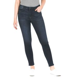 DEMOCRACY Blue High-Waist Skinny Jeans